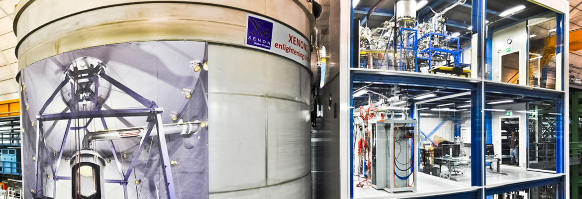 XENON1T: Gearing up to detect dark matter